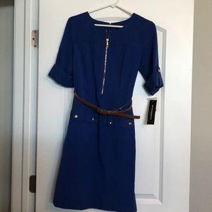 NWT Sharagano Royal Blue Dress - Size 6